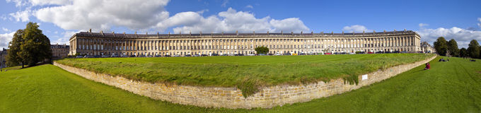 Royal Cresent in Bath Stock Photography