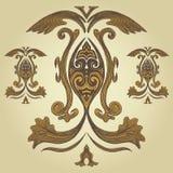 Royal Crest. Design element of a royal crest Stock Images