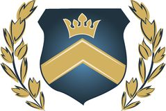 Royal Crest Stock Photography