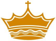 Royal Cross Crown Stock Photography