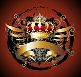 Royal crown Royalty Free Stock Photo