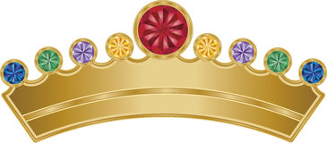 Royal Crown Royalty Free Stock Photos