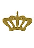 Royal crown. Under the background of white vector illustration