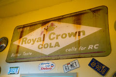 Royal Crown Cola RC Royalty Free Stock Photos