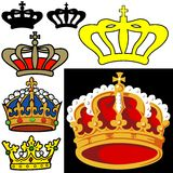 Royal Crown Stock Photography