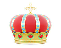 Royal crown. 3d illustration Royalty Free Stock Image