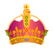 Royal crown icon Stock Photo