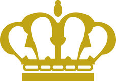 Royal Crown isolated Stock Photo
