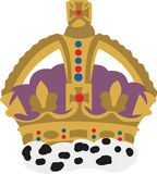 Royal Crown Royalty Free Stock Images
