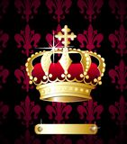 Royal crown vector Stock Image