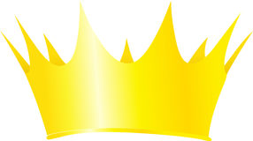 Royal crown vector illustration isolated Stock Image
