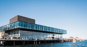 Royal Danish Playhouse. (Skuespilhuset) in Copenhagen, designed by  Lundgaard & Tranberg architecture company Royalty Free Stock Photo
