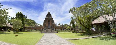 ` Royal de temple de ` de Pura Taman Ayun, 1634, dans la traduction du ` indonésien de jardin d'amende du ` A l'indonésie Bali, M Photo libre de droits