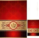 Royal Design Background Stock Images