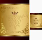 Royal Design Background Royalty Free Stock Photo