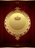 Royal Design Background Stock Photo