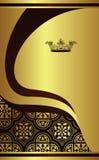 Royal design background. Illustration of royal design background Royalty Free Stock Photo