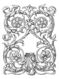 Royal design elements vector Royalty Free Stock Images
