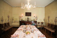 Royal dining room Stock Photos