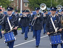 Royal Dutch Military Police Trumpet Band Royalty Free Stock Photos