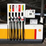 Royal Dutch Shell royalty free stock photo