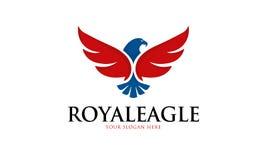 Royal Eagle Logo Royalty Free Stock Photos