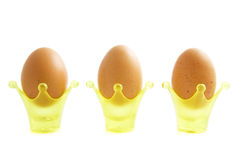 Royal easter eggs Stock Photo