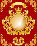 Royal Emblem Stock Photo