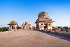 Royal Enclave, Mandu. Royal Enclave in Mandu, Madhya Pradesh, India royalty free stock photos