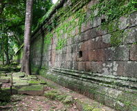Royal enclosure, Phimeanakas temple. Cambodia Royalty Free Stock Photos