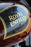 Royal Enfield. Bike bullet classic 350 Royalty Free Stock Photography