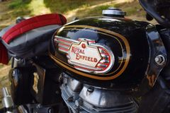 Royal Enfield royalty free stock photo