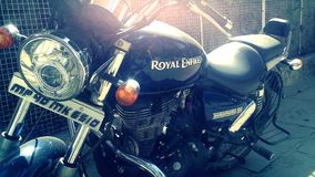 Royal Enfield Stock Photo