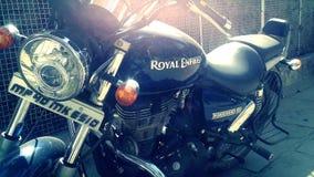 Royal Enfield. Bike royal Enfield  my bike indian tashan Stock Photo