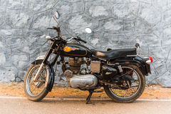 Royal Enfield Bullet 350 made in India Royalty Free Stock Photo