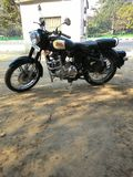 Royal Enfield classic 350 Stock Images