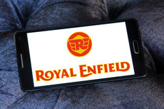 Royal enfield motor logo Stock Photos