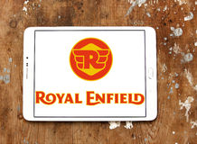 Royal enfield motor logo Stock Photo