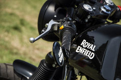 Royal enfield motorbike Royalty Free Stock Photos