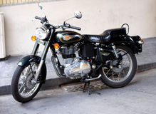 Royal Enfield motorbike Stock Photo