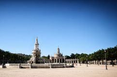 Royal Estate of Aranjuez, Madrid Spain. Aranjuez in a Spanish tourist destination, famous for its historical heritage, is also called the royal estate of Royalty Free Stock Photo