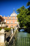 Royal Estate of Aranjuez, Madrid Spain. Aranjuez in a Spanish tourist destination, famous for its historical heritage, is also called the royal estate of Stock Photo