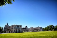 Royal Estate of Aranjuez, Madrid Spain. Aranjuez in a Spanish tourist destination, famous for its historical heritage, is also called the royal estate of Stock Photography