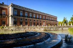 Royal Estate of Aranjuez, Madrid Spain. Aranjuez in a Spanish tourist destination, famous for its historical heritage, is also called the royal estate of Stock Photos