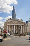 Royal Exchange, Bank of England. Square and underground station Stock Photography