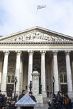 Royal Exchange building facade, London Royalty Free Stock Images
