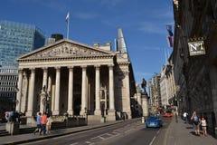 Royal Exchange Cornhill Street London Stock Image