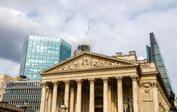Royal Exchange, a historic building in London Stock Photos