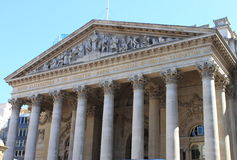 Royal Exchange in London Royalty Free Stock Images