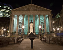 The Royal Exchange in London Royalty Free Stock Photography